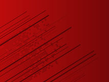 Abstract Hi-Tech Red Background Stock Images