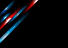 Abstract hi-tech stripes vector background Royalty Free Stock Photography