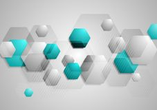 Abstract hi-tech vector background Royalty Free Stock Photo