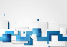 Abstract hi-tech vector background Royalty Free Stock Image