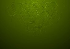 Abstract hi-tech vector background Royalty Free Stock Photos