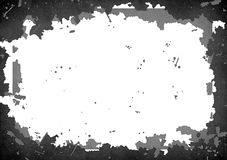 Abstract  High Resolution Detailed Grunge Frame Royalty Free Stock Images