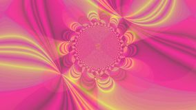 Abstract high resolution fractal background with a detailed wavy moving blossom stock footage