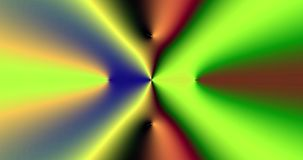 Abstract high resolution fractal video with a flashing psychedelic hypnotic crossed pattern stock video