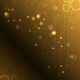 Abstract high-tech background. Clip-art Royalty Free Stock Photos