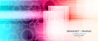 Abstract high tech background Royalty Free Stock Photography