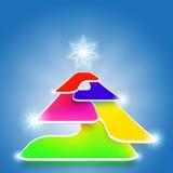 Abstract high tech background vector. Color abstract high tech background vector illustration Royalty Free Stock Photos