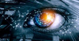 Free Abstract High Tech Eye Concept Stock Photography - 151812012