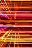 Abstract High Tech Glowing Lines Background Royalty Free Stock Images