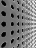 Abstract high-tech mesh structure Stock Photos