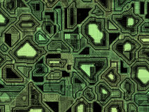 Abstract high tech pattern Stock Image