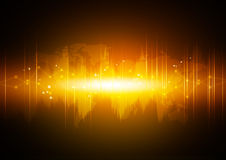 Abstract high technology background Stock Images