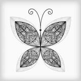 Abstract highly detailed  butterfly Royalty Free Stock Image
