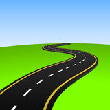 Abstract highway Stock Images