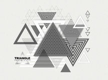 Abstract hipster poligon triangle background Royalty Free Stock Images