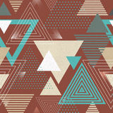 Abstract hipster poligon triangle background Stock Images