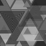 Abstract hipster poligon triangle background Stock Photography