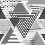 Abstract hipster poligon triangle background Royalty Free Stock Photos