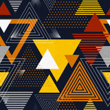Abstract hipster polygon triangle background. Stock Photo