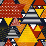 Abstract hipster polygon triangle background. Royalty Free Stock Image