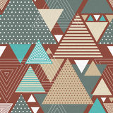 Abstract hipster polygon triangle background Stock Photos