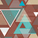 Abstract hipster polygon triangle background Royalty Free Stock Photo
