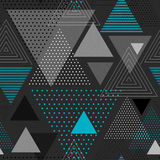 Abstract hipster triangle background Royalty Free Stock Photography