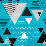 Abstract hipster triangle background Stock Photography