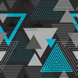 Abstract hipster triangle background Royalty Free Stock Photo