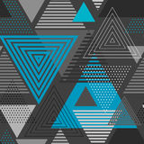 Abstract hipster triangle background Stock Images