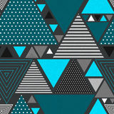 Abstract hipster triangle background Royalty Free Stock Images