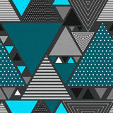 Abstract hipster triangle background Royalty Free Stock Image