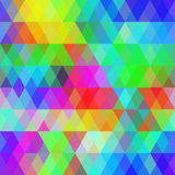 Abstract hipsters seamless pattern with bright Stock Photos