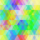 Abstract hipsters seamless pattern with bright colored rhombus.  Royalty Free Stock Image