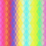 Abstract hipsters seamless pattern with bright colored rhombus. Geometric background. Vector Royalty Free Stock Images