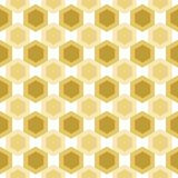 Abstract Hive Brown Seamless Pattern Royalty Free Stock Photo