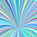 Abstract hole background - vector design from swirling rays Stock Photography