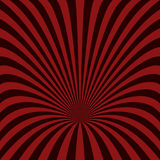 Abstract hole background - vector graphic. From curved ray stripes royalty free illustration