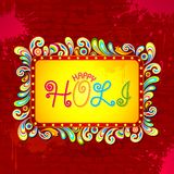 Abstract Holi Background. Illustration of abstract colorful background for Holi Stock Photos