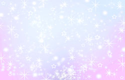 Abstract holiday background. Beautiful shiny Christmas lights, glowing magic bokeh Royalty Free Stock Images