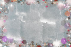 Abstract holiday background. Beautiful shiny Christmas lights Stock Images