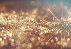 Abstract holiday background with fireworks Royalty Free Stock Photo