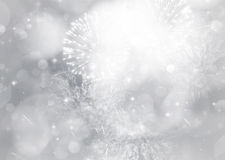 Abstract holiday background with fireworks. Fireworks at New Year and copy space Stock Images