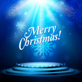 Abstract holiday Christmas background Stock Photos