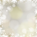 Abstract holiday Christmas golden background Stock Photography