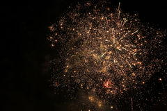 abstract holiday firework background. Stock Images