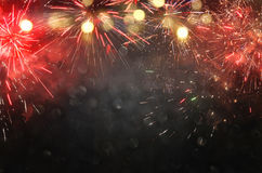 abstract holiday firework background. Royalty Free Stock Images