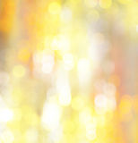 Abstract holiday glowing golden background Royalty Free Stock Photos
