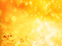 Abstract holiday gold background Royalty Free Stock Photography