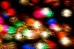 Abstract holiday light blur Stock Photography